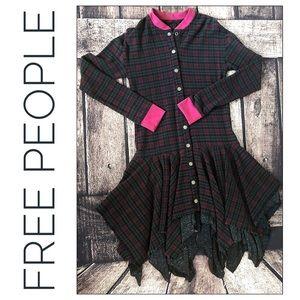 Free People Sample Tattered Hem Jacket Dress